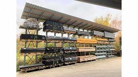 Foto de DWF Baustoff-Fachhandel: modernización del almacén