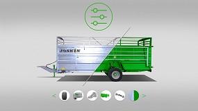 Foto de Joskin desarrolla un configurador online para remolques de ganado y aireadores de pradera