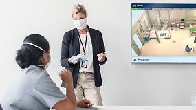 Foto de La formación interactiva de limpieza en hospitales de Tork ayuda a los gerentes de servicios ambientales a garantizar la seguridad de los entornos sanitarios