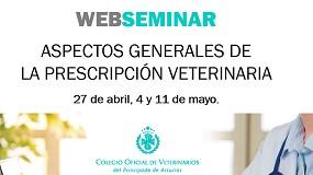 Foto de Formación online del Colegio de Veterinarios de Asturias sobre la prescripción de antimicrobianos