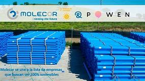 Foto de Molecor y Powen firman un PPA (Power Purchase Agreement) para garantizar el autoconsumo a largo plazo en su fábrica de Loeches (Madrid)