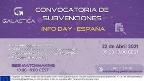 Foto de LA AEI Tèxtils coorganizará el Info Day nacional para presentar la primera convocatoria de Galactica