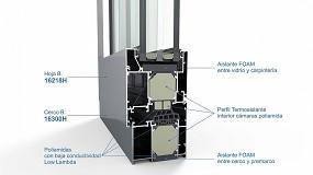 Foto de Alugom presenta el sistema Alg 75 Máxima Passivhaus con poliamidas Low Lambda de Technoform