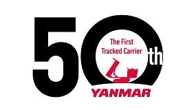 Fotografia de Yanmar celebra el 50 aniversario de sus transportadores de cadenas