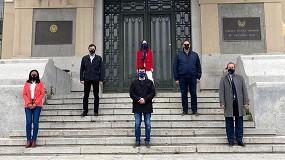 Fotografia de Protesta simbólica del Citop ante la cesión del Grado de Ingeniería Civil de la UPM