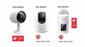 Foto de D-Link, premiado por los IF Design Award y reddot Design Award en su gama de cámaras de seguridad mydlink