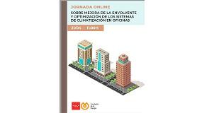 Foto de Jornada online sobre 'Mejora de la envolvente y optimización de los sistemas de climatización de oficinas'