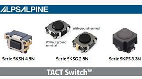 Foto de Nuevos modelos de Tact Switch TM de Alps