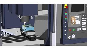 Foto de Esprit CAM mejora el mecanizado de piezas largas automatizando la creación de programas multihusillo