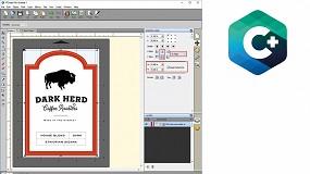 Foto de Imprimir y troquelar etiquetas de cualquier forma o tamaño, todo en un solo proceso con la impresora de etiquetas a color LX610e Pro