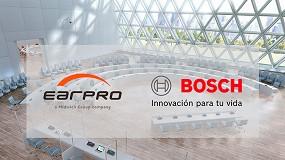 Foto de Earpro y Bosch Security and Safety Systems anuncian una alianza estratégica