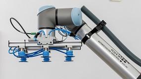Foto de Nutai, UR y Festo desarrollan una solución de mejora de la movilidad de un robot colaborativo