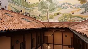 Foto de Impermeabilización y retejado de cubierta en una tradicional corrala madrileña