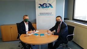 Foto de AGA y eisp firman un convenio marco de colaboración
