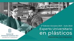 Foto de El CEP lanza la segunda edición del título de Experto Universitario en Plásticos