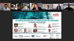 Foto de La digitalización en la fabricación de ventanas a debate en una nueva jornada digital, organizada por Interempresas