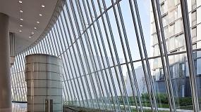 Foto de Planibel Clearvision, de AGC, proporciona transparencia en el vidrio con bajo contenido en hierro