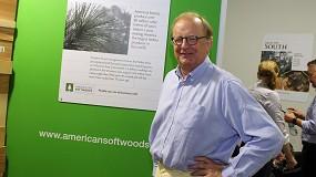 Foto de Entrevista a Charles Trevor, consultor internacional de American Softwoods