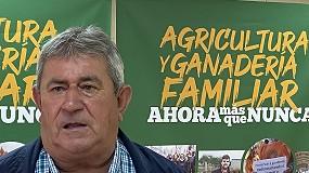 Foto de Entrevista a Lorenzo Ramos, secretario general de la Unión de Pequeños Agricultores y Ganaderos (UPA)