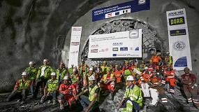 Foto de Una tuneladora Herrenknecht establece un nuevo récord de avance en el túnel Brenner Base