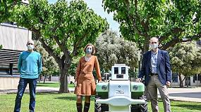Foto de Investigadores de la Politécnica de Valencia presentan un robot para la viticultura del futuro