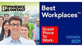 Foto de Phoenix Contact es una de las mejores empresas para trabajar en España en 2021, según Great Place to Work