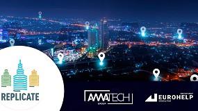 Foto de Amatech Group participa en el desarrollo de aplicaciones para ciudades inteligentes del proyecto 'Replicate'