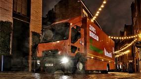 Foto de La compañía Warburtons incorpora su primer camión 100% eléctrico Renault Trucks D Z.E.
