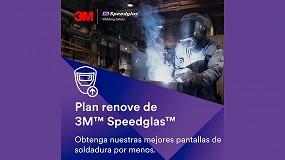 Foto de Omni-Safety lanza un Plan Renove para las pantallas de soldadura 3M Speedglas