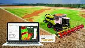 Foto de Claas Telematics y Climate FieldView se conectan para facilitar la gestión de datos en las operaciones agrícolas