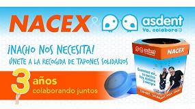 Foto de La alianza entre Nacex y Asdent cumple 3 años