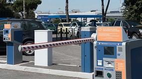 Foto de Automatizaciones Nice de control de accesos en los aeropuertos de Roma
