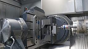 Foto de Blum combina de forma inteligente el mecanizado con un sistema de medición