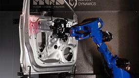 Foto de MQS desarrolla la medición de componentes basada en robots con Motoman GP12