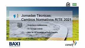 Foto de Ciclo de jornadas Conaif sobre las novedades del RITE 2021