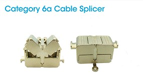 Foto de Nuevas conexiones Ethernet con cables LAN para montaje en campo