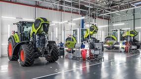 Foto de CLAAS actualiza la fábrica de tractores de Le Mans