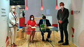 Foto de Incibe y Segittur firman un convenio de colaboración para aumentar la ciberseguridad de las empresas turísticas