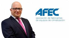 Foto de Pedro Ruiz Romero, nombrado responsable del Departamento de Estudios y Legislación de Afec