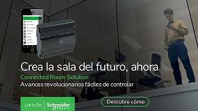 Foto de Edificios y hoteles preparados para el futuro con las Connected Room Solution de Schneider Electric