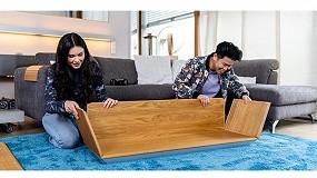 Foto de Homag y Välinge lanzan un nuevo concepto de tecnología clic para muebles