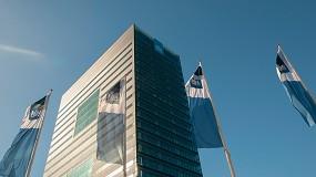 Foto de Serge Ferrari en la mayor fachada textil de los Países Bajos