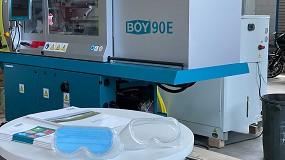 Foto de Proyecto llave en mano para gafas de protección médica de Centrotécnica- Boy