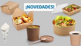 Foto de Embalajes Raja lanza una nueva gama de embalaje alimentario para el sector de la restauración, hostelería y catering