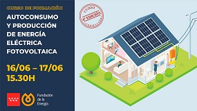 Foto de 'Autoconsumo y producción de energía eléctrica fotovoltaica', nuevo curso online de Fenercom