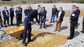 Foto de Unifersa celebra el acto de colocación de la primera piedra de sus nuevas instalaciones en A Coruña