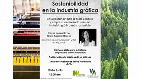 Foto de Proimpel organiza el webinar 'Sostenibilidad en la Industria Gráfica'