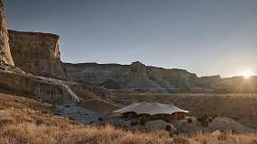 Foto de Serge Ferrari en el Campamento Sarika, en el Corazón del Gran Cañón