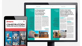 Foto de Ya está disponible el primer número de la revista Construcción Industrializada