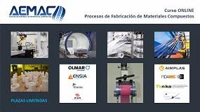 Foto de Aemac lanza el primer curso online sobre procesos de fabricación de materiales compuestos